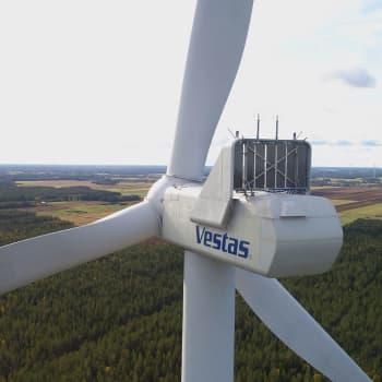 Medvind för den finländska vindkraften