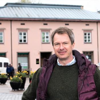 Sommargästen Peter Nyman: En klasskompis i nian sade att jag kommer bli journalist