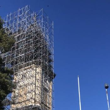 Sotkamon kirkkotapulin paanukaton korjaustyöt valmistuivat