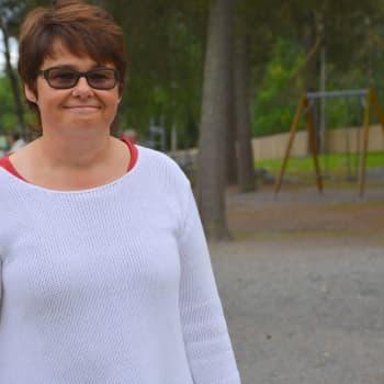 Rektor Inger Nabb välkomnar mer pengar till barn och unga.