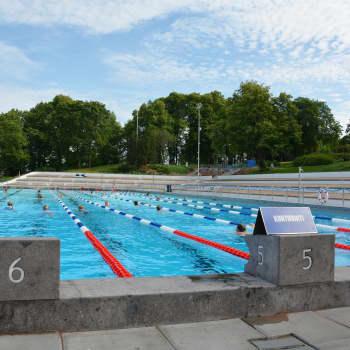 Samppalinna utebad i Åbo öppnar - men med restriktioner på grund av coronan