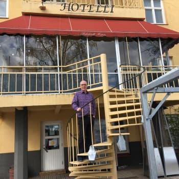 Hotelli Hospitz Savonlinnassa on valmiina avaamaan terassinsa 1. kesäkuuta