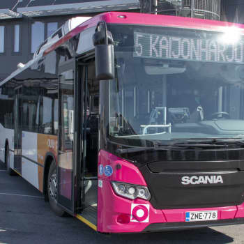 Oulun biokaasubussit