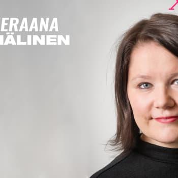 """Sari Hälinen vieraana: """"Olisko Ylellä helikopteria vuokrata, niin saataisiin jaettua kesäkumeja ilmateitse?"""""""