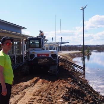 Tulvavalleja rakennetaan nyt eri puolilla Rovaniemeä