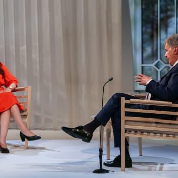 President Niinistös Gullrandasamtal om lån och ekonomi, EU och nationell enighet