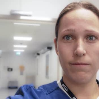 Sjukskötarbloggaren Malin Solstrand på intensiven i Vasa