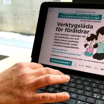 Svenskspråkig webbplats lanserats som stöd för föräldrar under coronatiden