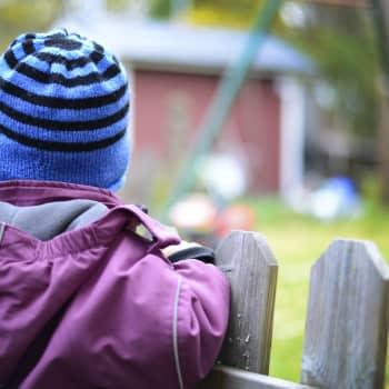 Bettina Aspfors förde sitt barn Edvin till dagis efter en paus på två månader