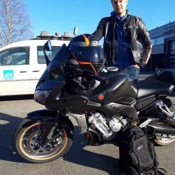Maltti on valttia myös moottoripyöräillessä