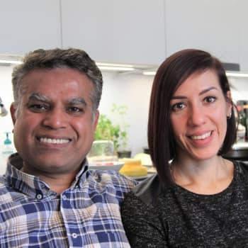 Suhteemme hyötyy intialais-venäläisistä taustoistamme - Ranjit ja Natalia Kumarin rakkaus kipinöi vuosienkin jälkeen