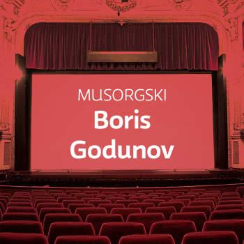 Musorgskin ooppera Boris Godunov