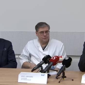 HUSin henkilöstössä koronavirustartunta - HUSin tiedotustilaisuus 12.3.2020