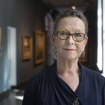 Kuusi kuvaa Ateneumin taidemuseon johtajan Marja Sakarin elämästä