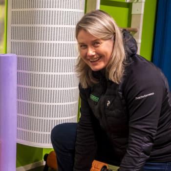Johanna Riihijärvi sisuuntui isänsä antamista potkuista ja rakensi uuden kuntosalikonseptin