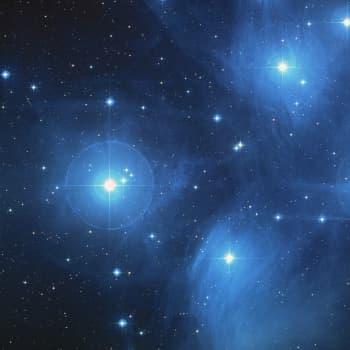 De mäktiga morgonstjärnorna från universums urgryning