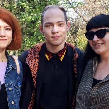 Där kriget inte syns - Tre unga ukrainare berättar på svenska om liv och drömmar i Lviv