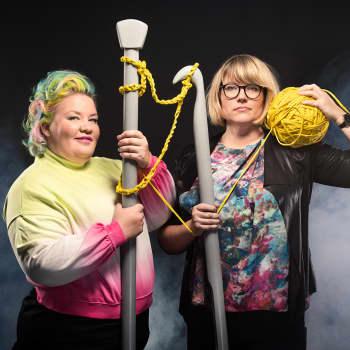 Vieraana Strömsön käsityö- ja askarteluvastaava Lee Esselström: Inspiroidun väreistä - jouluni on tänä vuonna keltainen