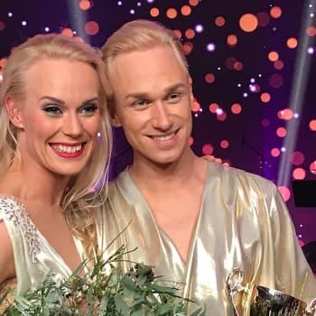 Christoffer Strandberg vann danstävlingen Tanssii tähtien kanssa