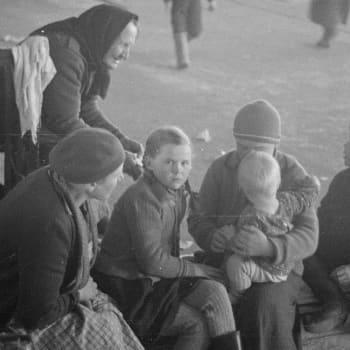 Evakuoinnit ja varautuminen olivat kesken, kun talvisota alkoi