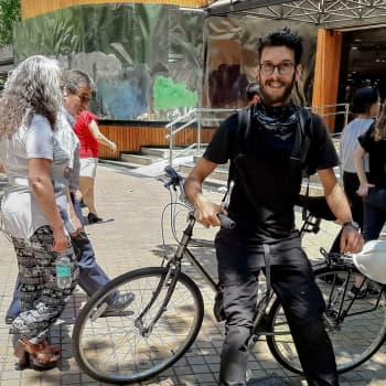 Miksi psykologi lähti kadulle Chilessä?