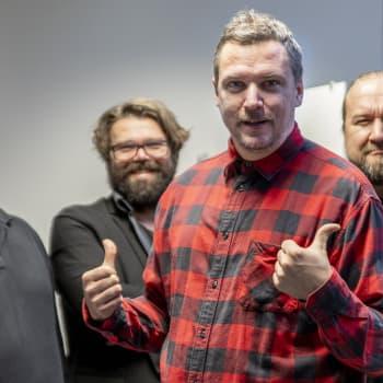 Kallen Kantapöytä: Kokemusasiantuntijat Kinnunen, Kouki ja Kärki ja isyyden ihmeellinen maailma