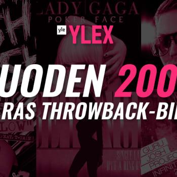 Vuoden 2008 parhaan Throwback-biisin äänestyksen TOP 20 -tulokset selviää!