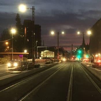 Miltä kuulostaa aamu Tampereen ratikkatyömaalla - radiolähetys vei Pyynikintorilta Hervantaan