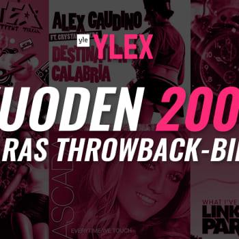 Vuoden 2007 parhaan Throwback-biisin äänestyksen TOP 20 -tulokset selviävät!