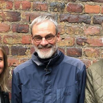 Programledarna Sonja och Mårten utmanades äta vegetariskt under två veckor