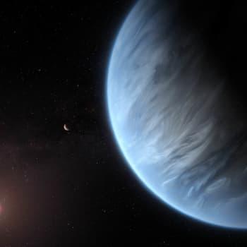 Vatten upptäckt på en fjärran planet / Framtiden skapas här och nu