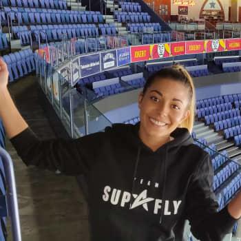 Amanda Harkimo pitää Hartwall Arenaa kotinaan