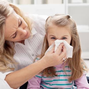 Allergolog Mikael Kuitunen pratar om barn och allergier