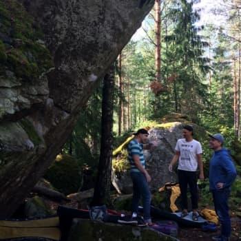 Painajainen, Naturalistin nakki ja Työntymys - Boulderoija pyrkii huipulle ja nimeämään kohteensa