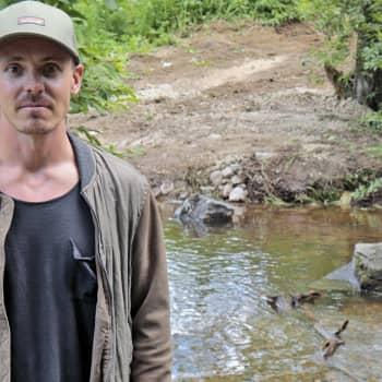 Jasper Pääkkönen suojelee kaloja