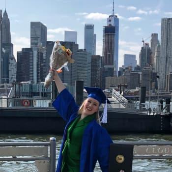 """""""Arki New Yorkissa oli rankkaa opiskelua ja treenejä, mutta elin silti unelmaani"""""""