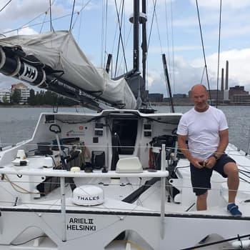 Yksinpurjehtija Ari Huusela: Greta Thunbergin matka Atlantilla on kuin ajaisi kitarakopassa moottoritiellä