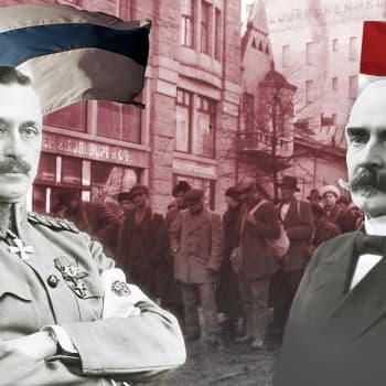 Osa 1. Monarkistit halusivat kuninkaan pitämään kansan kurissa ja tuomaan sotilaallista turvaa Saksasta
