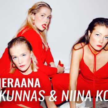 """Hillo-sarjan Emma Kunnas ja Niina Koponen vieraina: """"Mä fiilistelen sitä, jos joku tunnistaa itsensä sarjasta"""""""