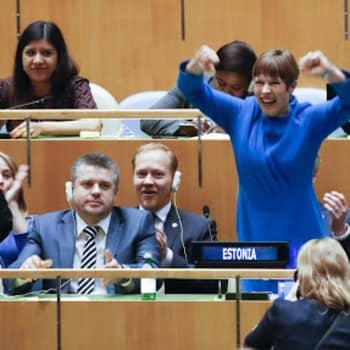 Viro pääsi YK:n turvallisuusneuvostoon, Suomi ei