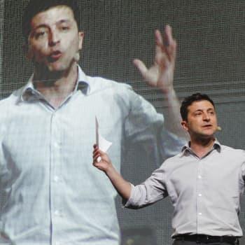 Televisiopresidentti sekoittaa Ukrainan politiikkaa