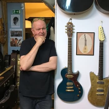 ZZ Topin Billy Gibbons luottaa Kari Niemisen kädenjälkeen - partamiehen laajassa kokoelmassa kuusi suomalaista Versoul-kitaraa