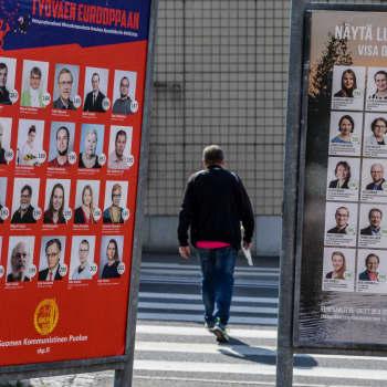 Svenska Yles debatt inför europaparlamentvalet