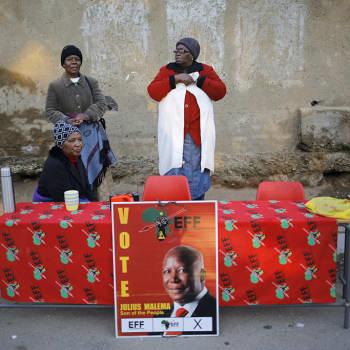 Pitkään jatkuneen kurimuksen jälkeen odotellaan parempia aikoja - Etelä-Afrikan parlamenttivaalit ovat toivon vaalit