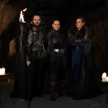 Allt för mörkt, fylleflyga drakar och våra felaktiga teorier - Ted, Anka och Isa diskuterar S08E03