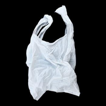 Ryvettynyt muovikassi on ollut myös himoittu arvoesine