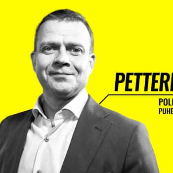 Eduskuntavaalit 2019 - vaalitentissä Petteri Orpo (kok.)