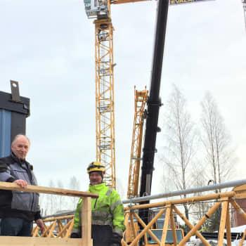 Kuinka torninosturi pystytetään ja millaista työ korkealla nosturissa on?