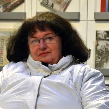 Maj-Britt Martin jobbade 43 år inom Kvarkentrafiken