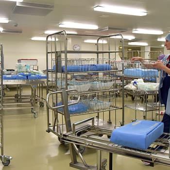 Sairaala ei tule toimeen ilman sairaala- ja välinehuoltoa